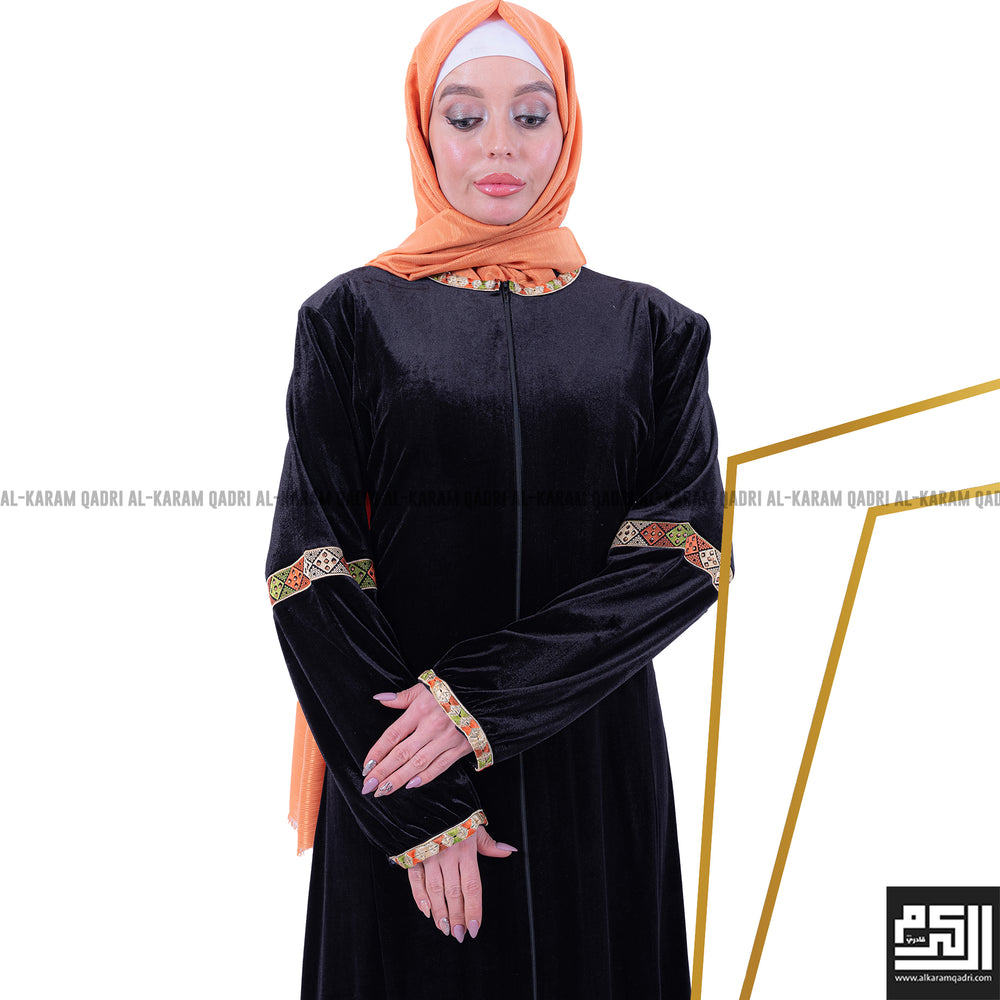 Load image into Gallery viewer, Detailed Gulf Abaya