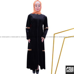 Load image into Gallery viewer, Velvet Chic Abaya