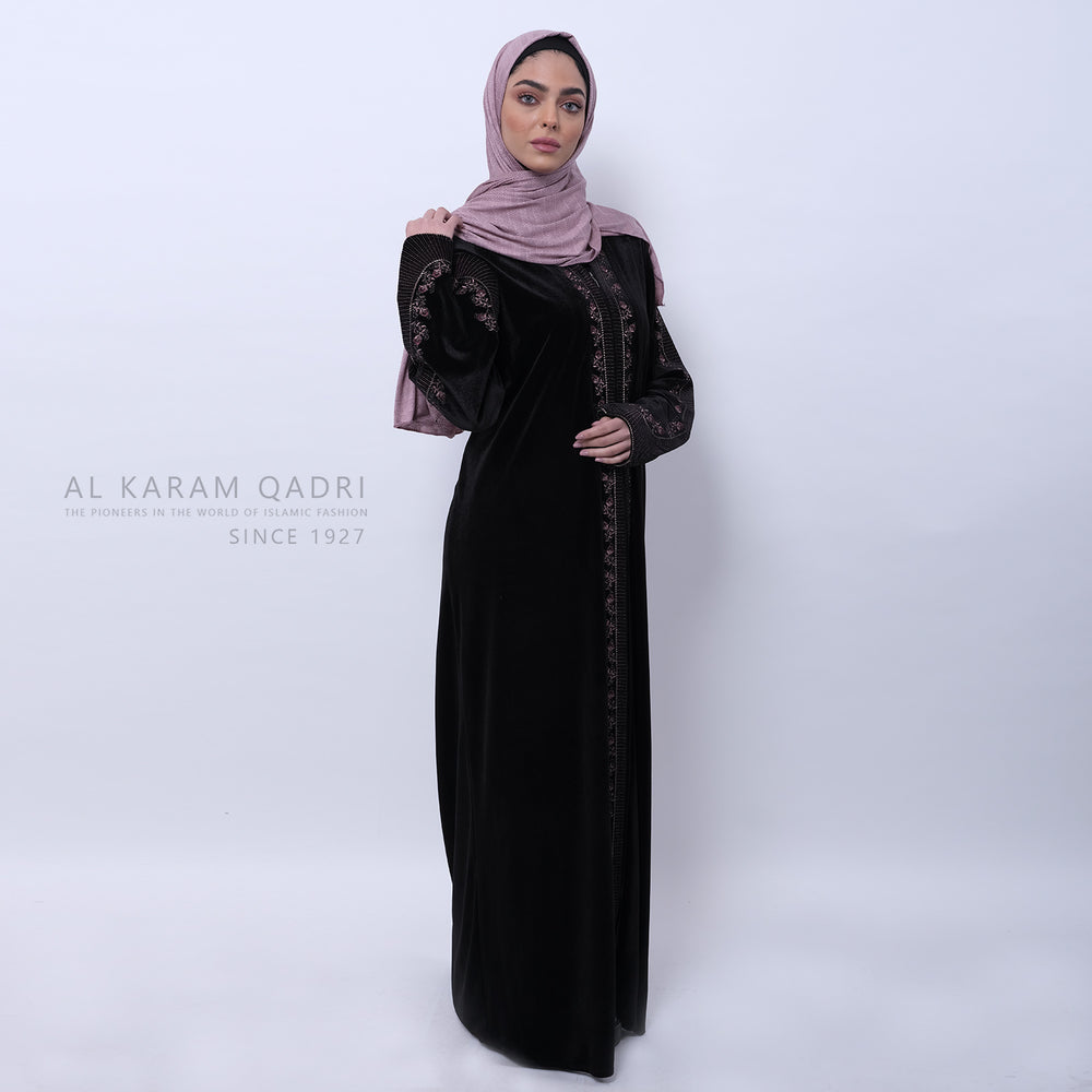 Load image into Gallery viewer, Maroon Studded Kashkha Shawl