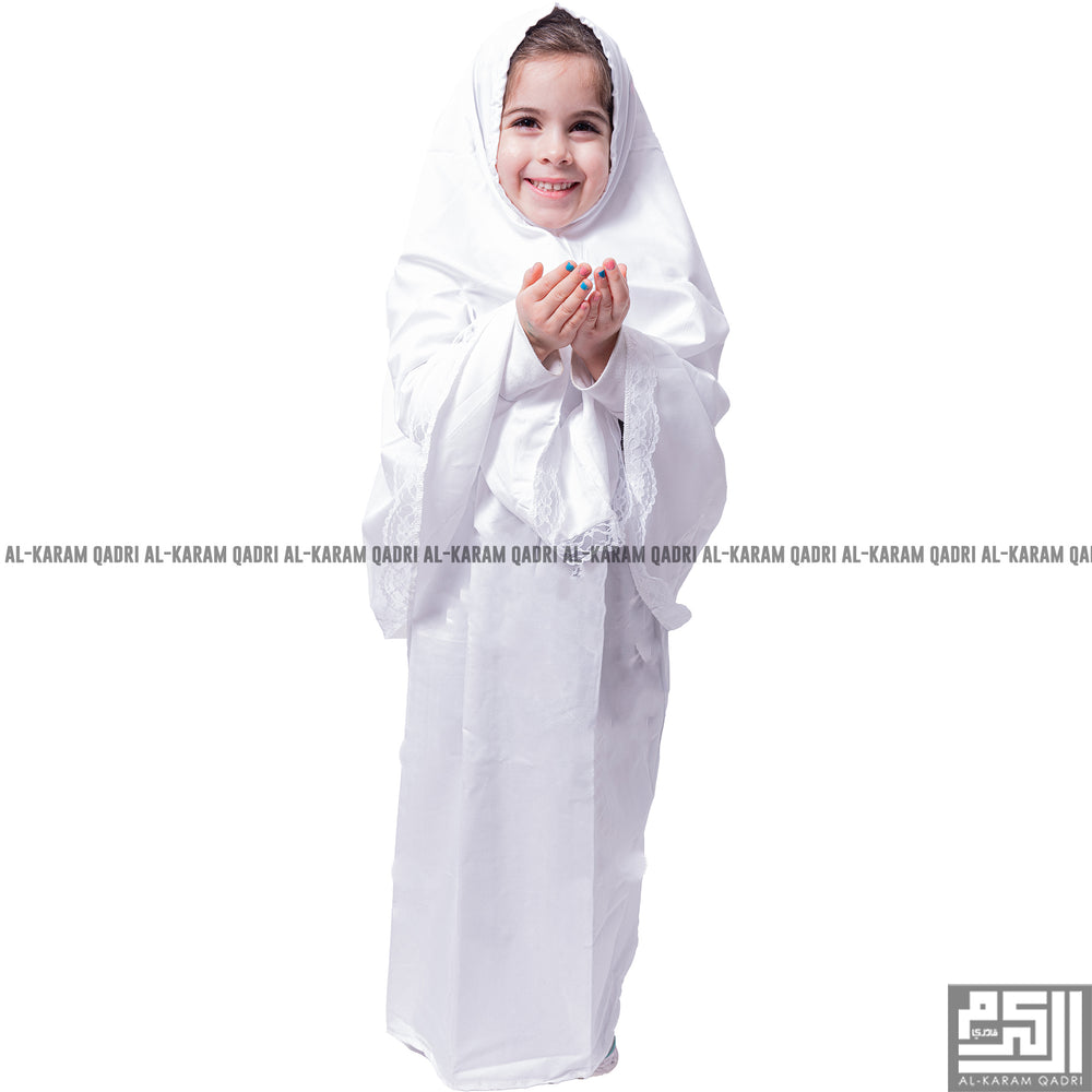 Load image into Gallery viewer, white Children Prayer Set 2 Pcs