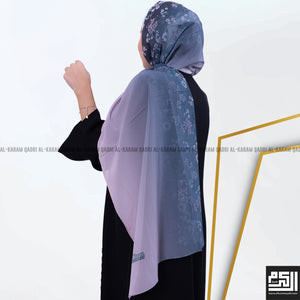 Load image into Gallery viewer, Floral Simple Georgette Shawl