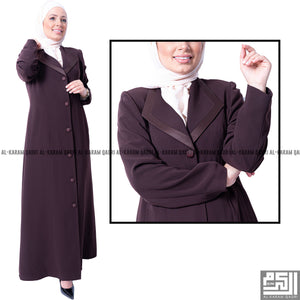 Comfortable Brown Jilbab