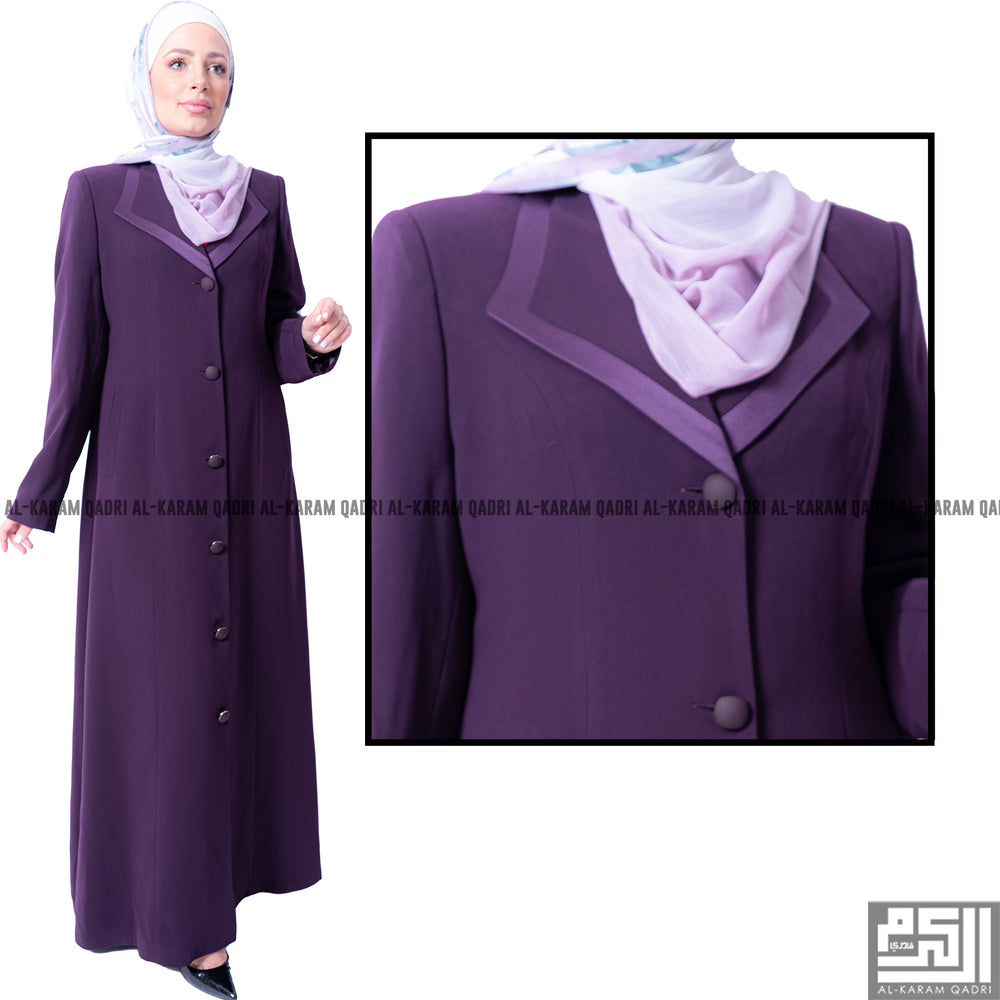 Comfortable Purple Jilbab