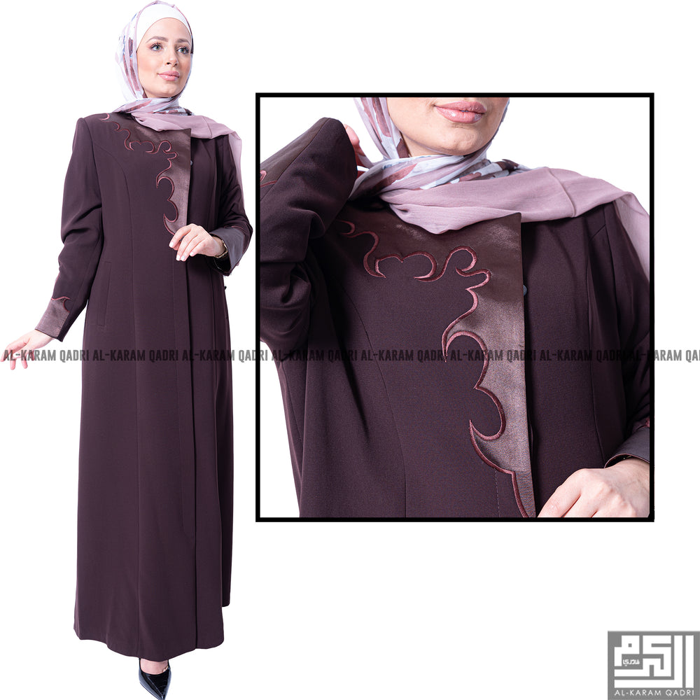 Satin Formal Jilbab