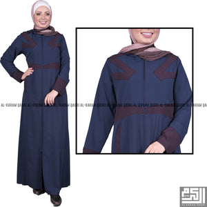 Navy Blue Comfortable Jilbab