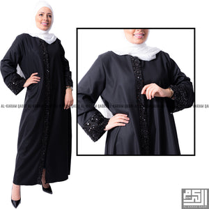 Load image into Gallery viewer, Studded Formal Abaya