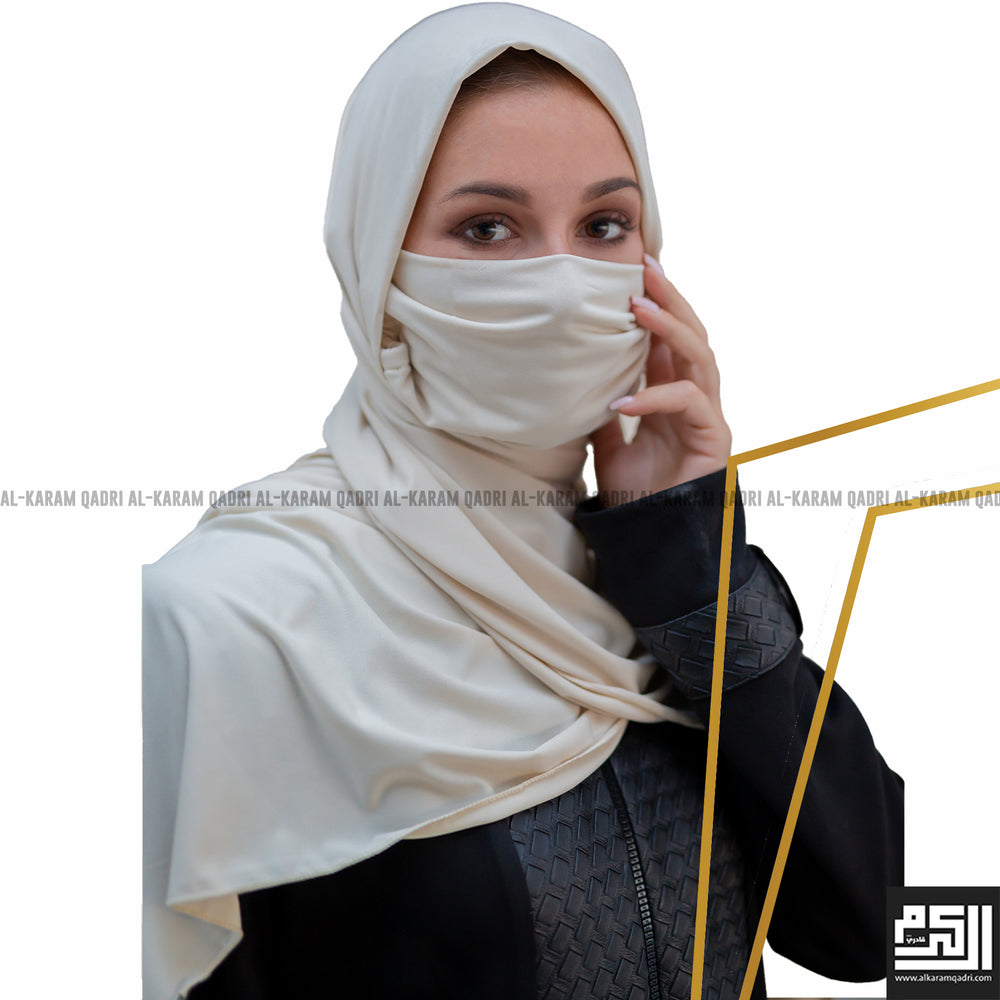 Jersey Shawl with Mask