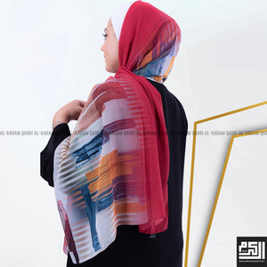 Load image into Gallery viewer, Colored Georgette Shawl
