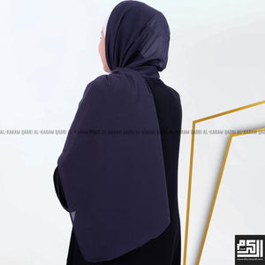 Load image into Gallery viewer, Plain Georgette Shawl