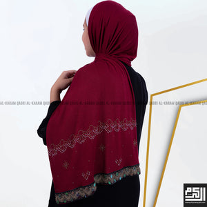 Jersey Embroidered Shawl