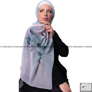 Turkish Printed Summer Shawl - Al Karam Qadri