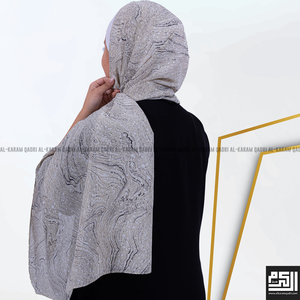 Load image into Gallery viewer, Georgette Patterned Shawl