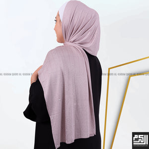Cotton - Lycra Studded Shawl