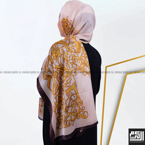 Beautiful Patterned Silk Shawl