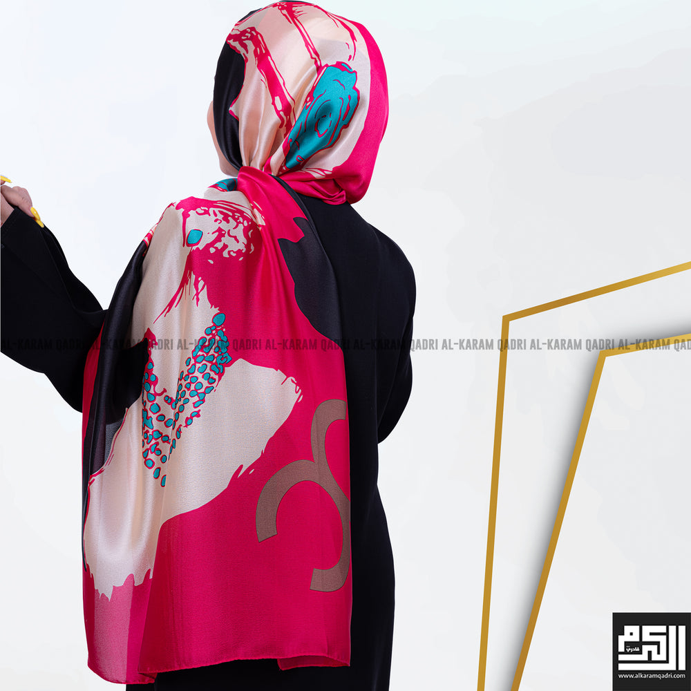 Load image into Gallery viewer, Printed Modern Silk Shawl