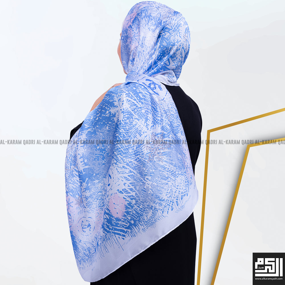 Light Colored Silk Shawl