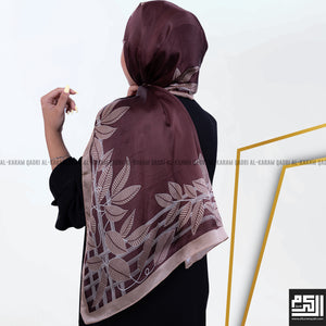 Load image into Gallery viewer, Elegant Floral Silk Shawl