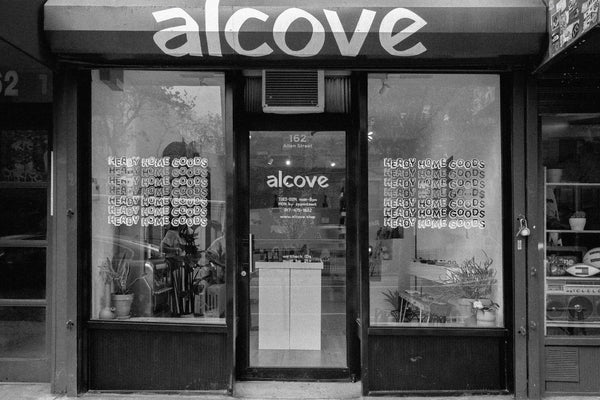 alcove-storefront-heady home goods-allen street NYC