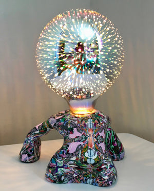 Tripping Tripod Table Lamp