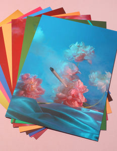 Smoking Flowers Postcard Set