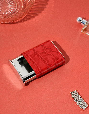 La Poche Pocket Ashtray in Kruger Red