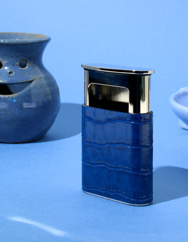 La Poche Pocket Ashtray in Delaunay Blue