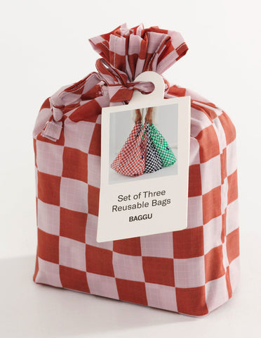 Checkerboard Bag Set