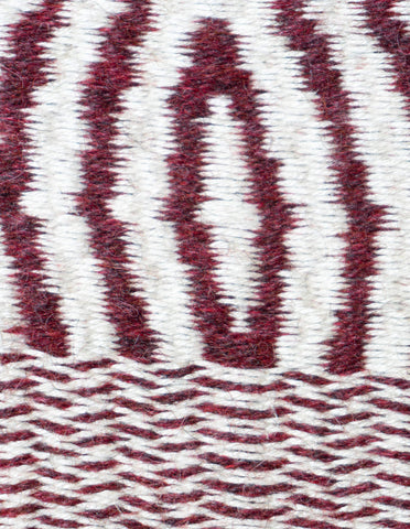 Optical Maroon Weaving (#519)