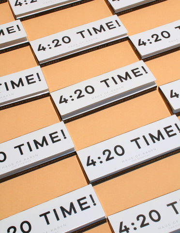 4:20 Time Rolling Papers