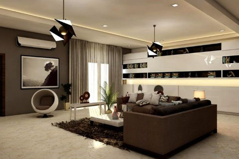 bold living room
