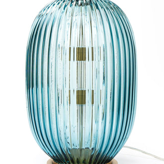 Load image into Gallery viewer, George Flavin III Hand-Blown Decorative Lamp