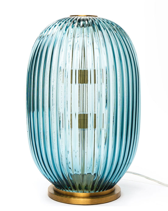 George Flavin III Hand-Blown Decorative Lamp