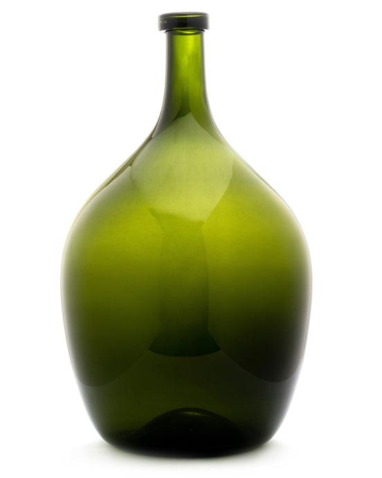 Lara Storms Hand-Blown Emerald Vase