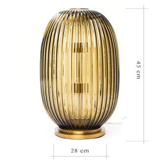 Load image into Gallery viewer, George Flavin Hand-Blown Decorative Lamp