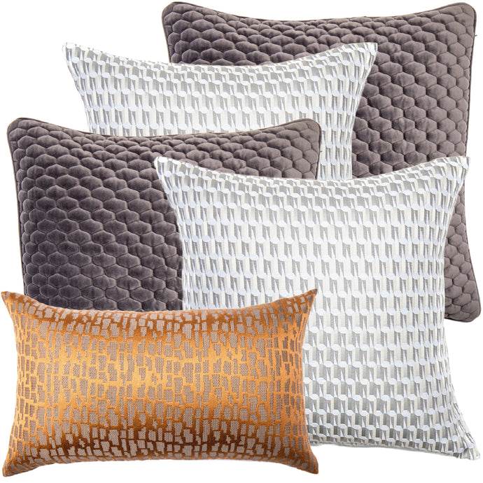 Maurice Bundle Decorative Pillow Package (5pcs)