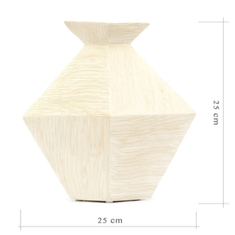 Load image into Gallery viewer, John Arnesson III Ceramic White Vase