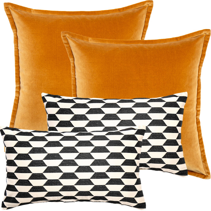 Asher Bundle Decorative Pillow Package (4pcs)