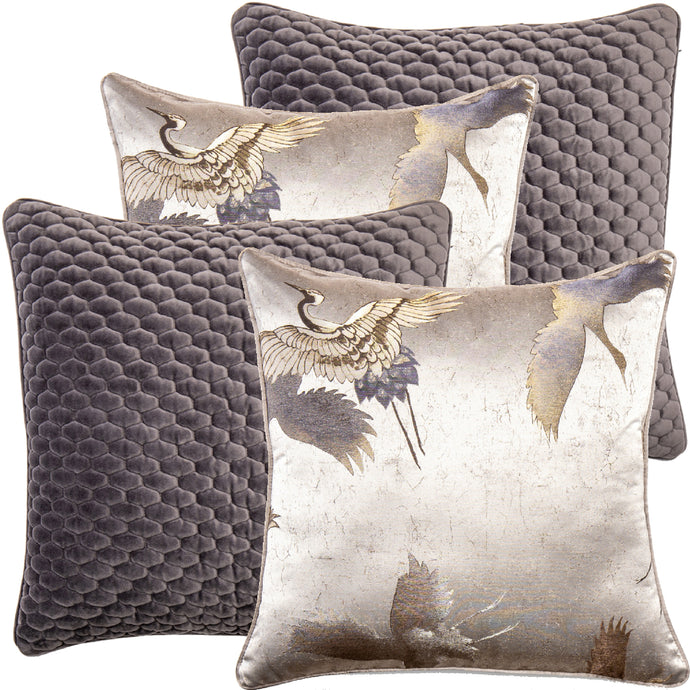 Carl Bundle Decorative Pillow Package (4pcs)