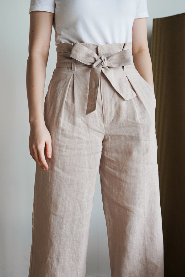 Johanna Pants 2.0 in Mauve Chalk - The Soleil Girl