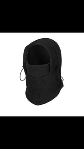 (FACE MASK) Thermal Fleece Balaclava Hood Swat Bike wind-proof and sand-proof Stopper Hats Caps Skullies Beanies