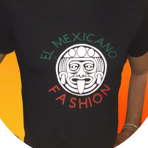 (MAYAN) El Mexicano Fashion T-shirt for man and woman 100% cotton