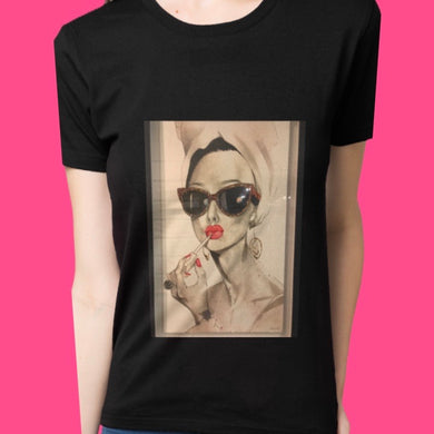 (FASHION GIRL) woman T-shirt, 100 % cotton