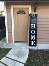 Load image into Gallery viewer, (Welcome to our Home) wood signs