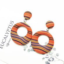 Load image into Gallery viewer, (JERGA EARRINGS) For Women Fashion Handmade Square Geometric Earrings 2019 Statement Drop Earrings