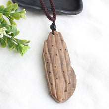 Load image into Gallery viewer, (SANDALWOOD PENDANT)Necklace Long Sweater Chain Adjustable Jewelry GiftSouvenir