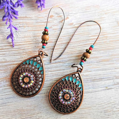 (WATER DRIP EARRINGS)  Hanging Dangle Drop Earrings for Women Female  Jewelry Accessories