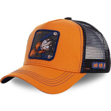 Load image into Gallery viewer, (DRAGON BALL CAP)  Snapback Cap Cotton Baseball Cap Men Women Hip Hop Dad Hat Trucker Mesh Hat Dropshipping