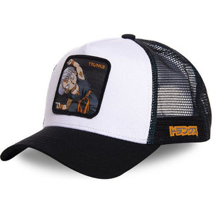 (DRAGON BALL CAP)  Snapback Cap Cotton Baseball Cap Men Women Hip Hop Dad Hat Trucker Mesh Hat Dropshipping
