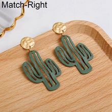 Load image into Gallery viewer, (CACTUS EARRINGS) Women Statement Big Hanging Earrings Long Dangle Cute Earrings Pendant Female Jewelry amazing price