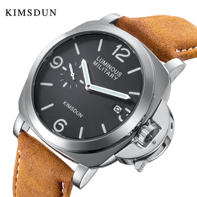 (CLASSY FASHION WATCH)Fashion Luxury Brand Sport Watch Men Waterproof Quartz Leather Military Wrist Watch Men Army Clock Male relojes hombre hodinky